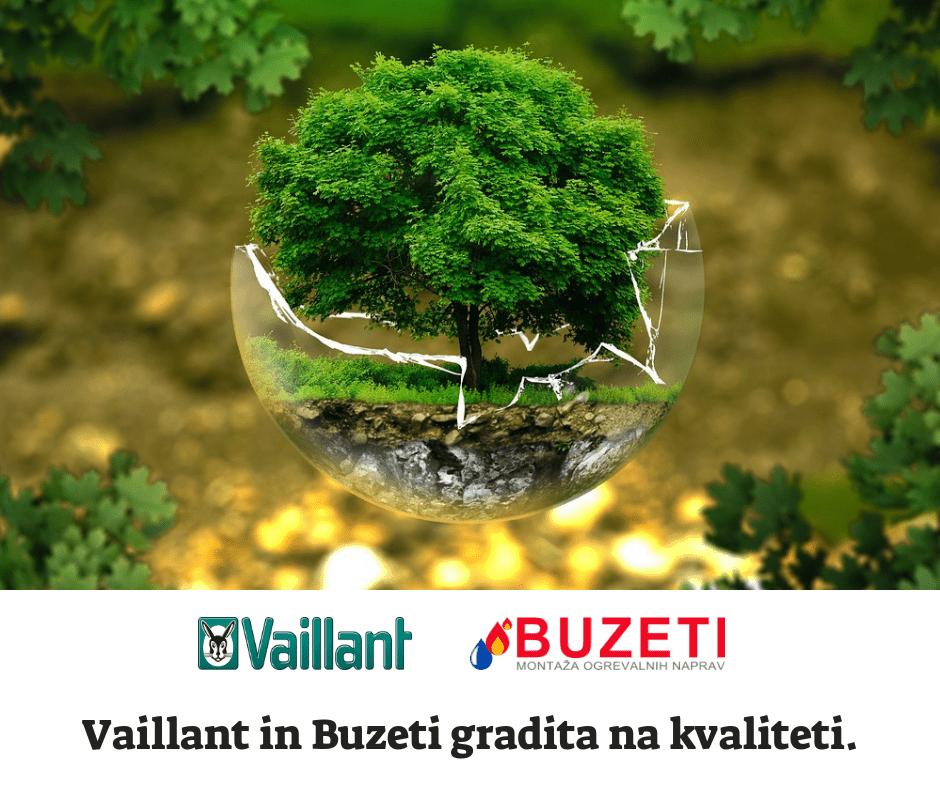 Vaillant in Buzeti gradita na kvaliteti