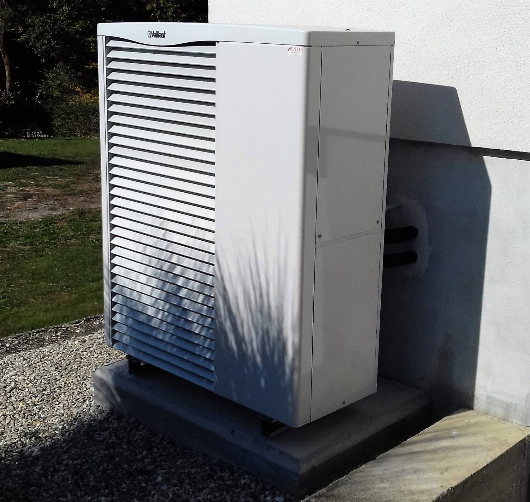Družina iz Goričkega se je odločila za toplotno črpalko zrak-voda