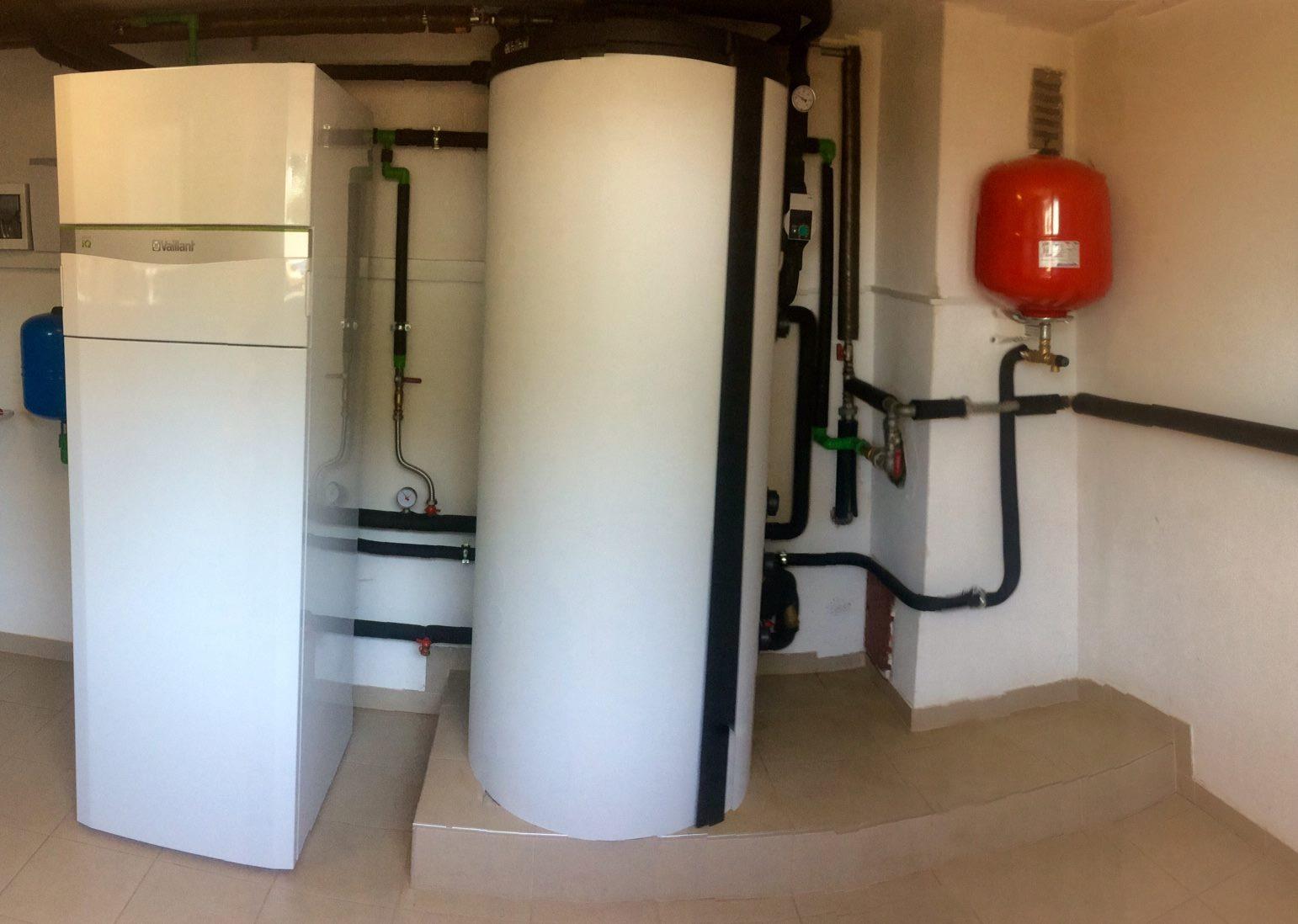 Nova kurilnica s toplotno črpalko sistema voda-voda v kombinaciji s fotovoltaiko